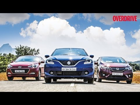 Hyundai Elite i20 v/s Suzuki Baleno v/s Honda Jazz - Comparative Review