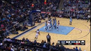 1st Quarter, One Box Video: Memphis Grizzlies vs. New Orleans Pelicans