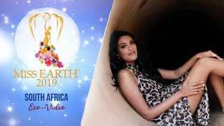 Nazia Wadee Miss Earth South Africa 2019 Eco Video