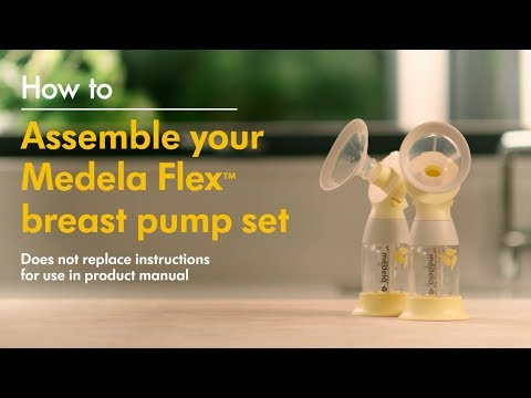 How to assemble Medela's Flex™ range