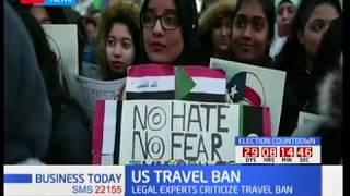 US TRAVEL BAN: Right groups blast President Donald Trump plan