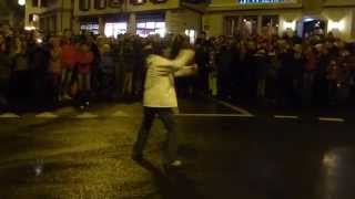preview picture of video 'Cracking whips at St Nicholas Chase (Klausjagen) Küssnacht 2014: 06'