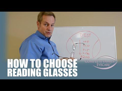 Reading and Cheater Glasses - Dr. Steve Explains