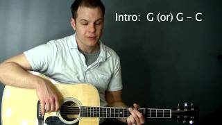 Marvelous Light (Charlie Hall) - Tutorial with chord chart