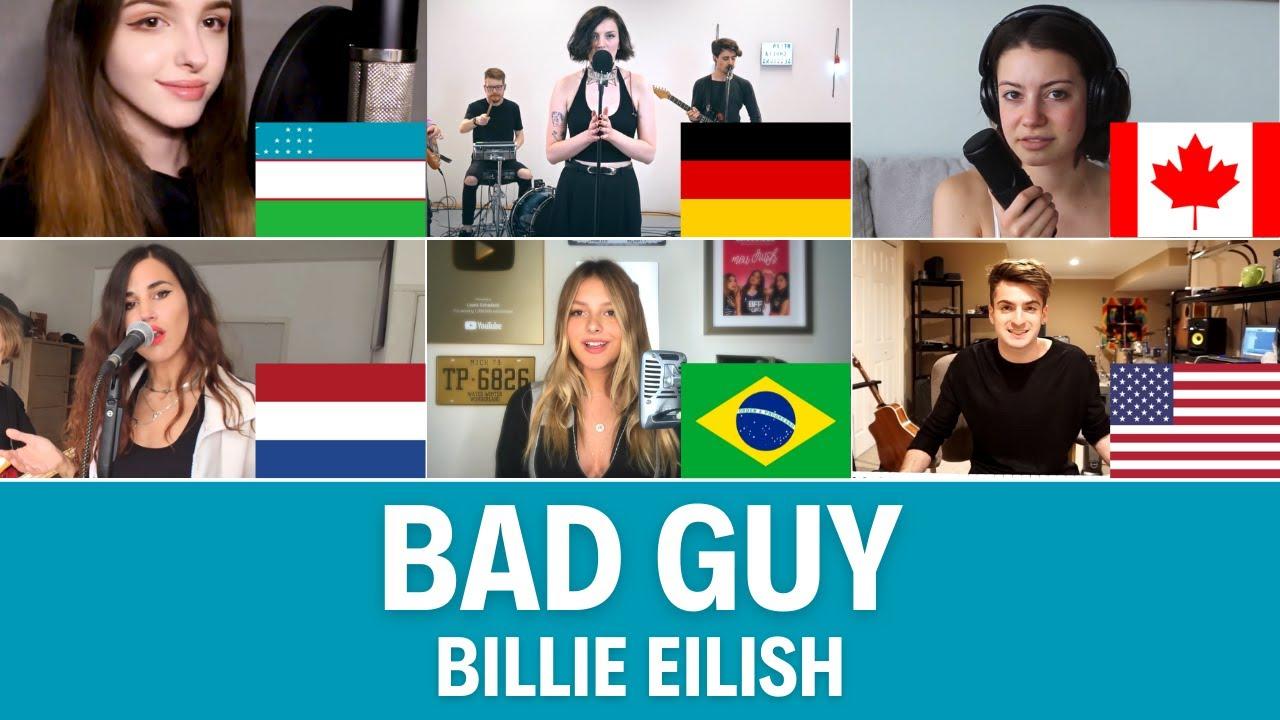Quem Canta Melhor? Cover Bad Guy (Alemanha, Brasil, Canadá, Estados Unidos, Holanda, Uzbequistão)