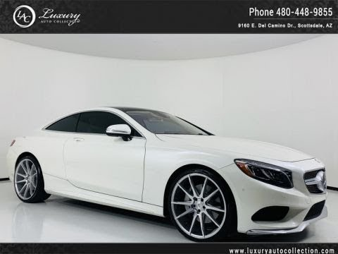 Pre-Owned 2016 Mercedes-Benz S-Class S 550 Coupe