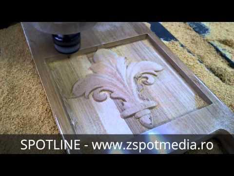 Router CNC SPOTLINE pentru mobilier din lemn