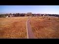 zaunfilm zeigt verschiedene Technik von Drohne über Kamerafahrten zu Greenscreen.