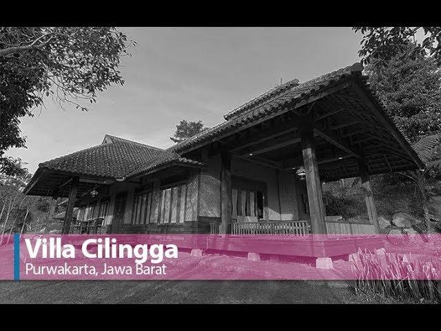 Villa Cilingga Purwakarta Jawa Barat
