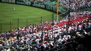 2014夏の甲子園 関西高校 サウスポー 銀傘下の迫力