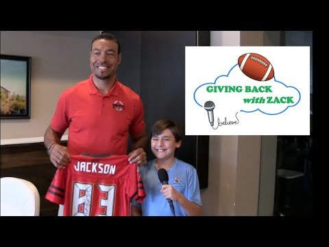 Giving Back with Zack- Vincent Jackson Interview