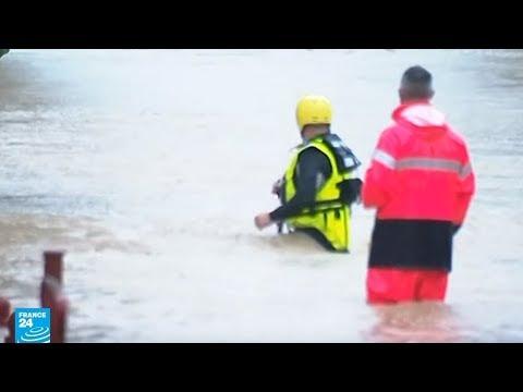 العرب اليوم - شاهد: فيضانات قوية تضرب جنوب فرنسا وتوقع عددًا من القتلى