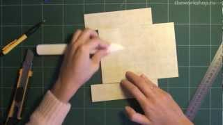 Скрапбукинг: Открытка коробочка своими руками (+шаблон) / The Workshop