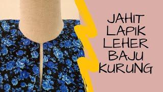 JAHIT BAJU KURUNG PART 1 | LAPIK LEHER | MASZ HASHIM