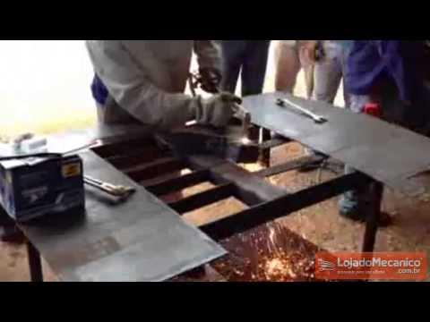 Maçarico de Corte 300 mm - Video