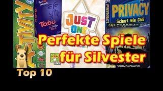 ► Die besten Partyspiele für Silvester / Top 10 / SpieLama