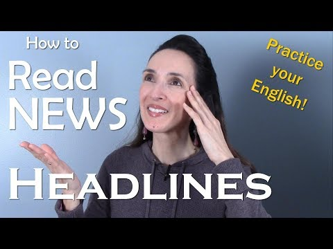 How to Read News Headlines and Improve Your English