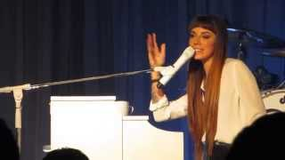 Christina Perri - Butterfly and Jar of Hearts - Seattle WA 5/24/14 live