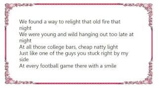 Brantley Gilbert - Freshman Year Lyrics