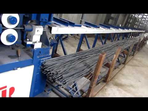 MAC-812 TMT Wire Straightening Machine