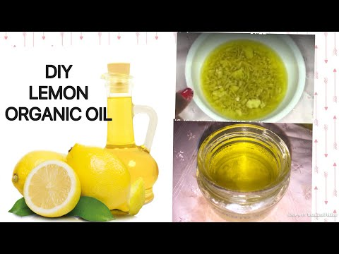 HOW TO MAKE LEMON ESSENTIAL OIL/ DIY LEMON OIL AT HOME /BRIGHT SKIN&HAIR(Vit C)