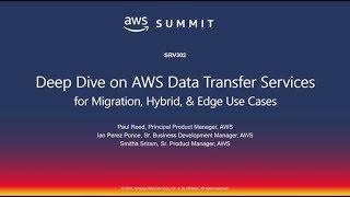008490c149 AWS New York Summit 2018 - AWS Data Transfer Services  Deep Dive (SRV302)