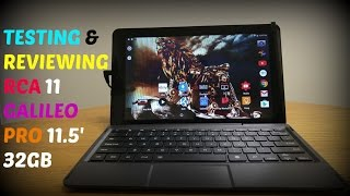 Rca Galileo 11 5 inch Tablet - hmong video