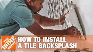 How To Install A Kitchen Tile Backsplash - Kitchen | The Home Depot