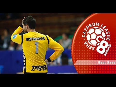 Best save: Radivoje Ristanovic (PPD Zagreb vs Vardar)