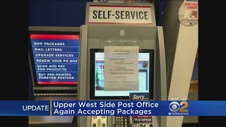 Troubled NYC Post Office Accepting Packages Again