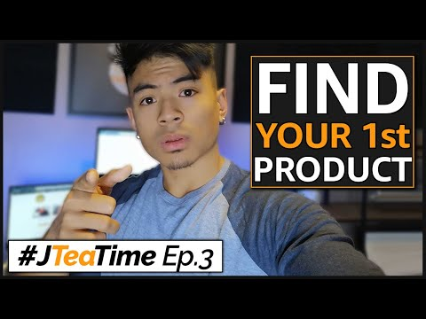 How To Find Your First Amazon FBA Product Today! | JTeaTime Ep.3 [LIVE]