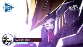 Rage of Dust - SPYAIR [Gundam Iron Blooded Orphans 2 - Opening 1] with Lyrics