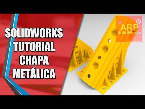 SolidWorks Tutorial Chapa Metálica - ARPSolidWorks