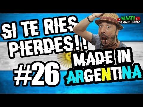 Si Te Ries Pierdes #26| Made In ARGENTINA | 2018 | 100%Argentina |NIVEL HIJO DE PU ALCAHUETE
