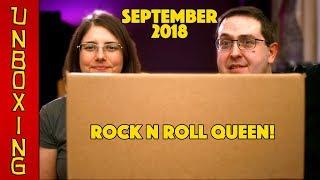 UNBOXING! Pop in a Box September 2018 (12 Funko Pops) - ROCK N ROLL QUEEN