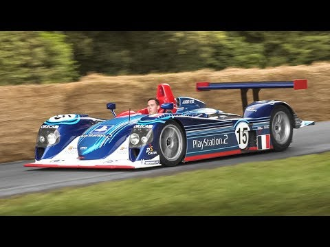2002 Dallara SP1 LMP900 ex Team Oreca: Judd 4.0 V10 Pure Sound!