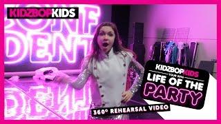 KIDZ BOP Kids – Life Of The Party Tour 360° Rehearsal Video #Explore360