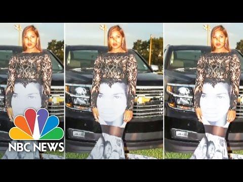 Prom Dress Makes A Black Lives Matter Statement | NBC News