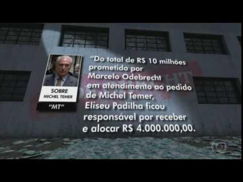 Ex-diretor da Odebrecht cita Temer e vários outros políticos em delação
