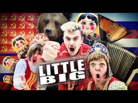 Little Big - Every Day I'm Drinking (DenDerty hardcore rmx) (видео)