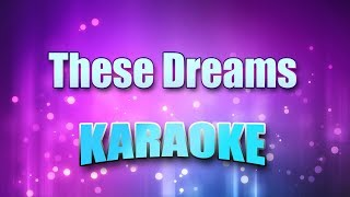 Heart - These Dreams (Karaoke & Lyrics)