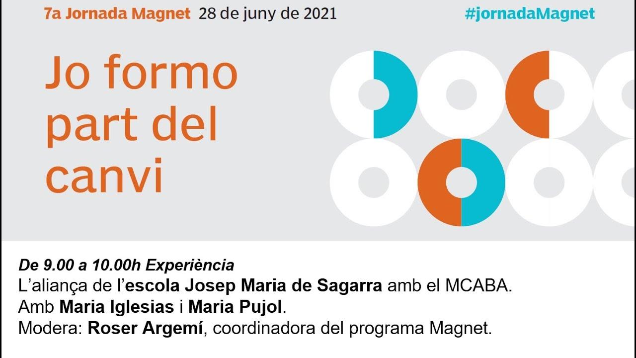 7a Jornada Magnet: l'aliança de l'escola Josep Maria de Sagarra amb el MACBA