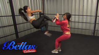 """The Bella Twins train together and worry about their """"Twins"""" exploding  