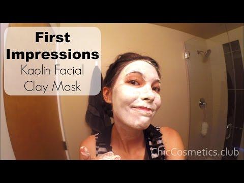 Toning facial mask patatas