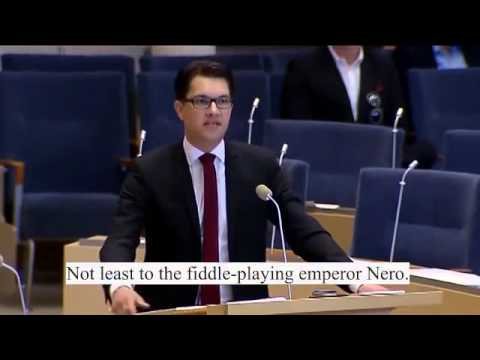 Swedish PM Reinfeldt - The Fiddle-playing Emperor Of A Nation On Fire