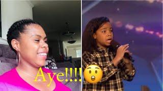 My Reaction | BGT| 12 Year old #FaythIfil Performing  #BGT #2020 #GoldenBuzzer #YoungTalent