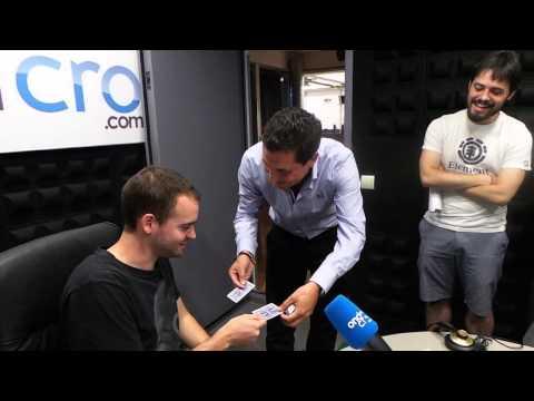 Invitado en la Radio Ondacro