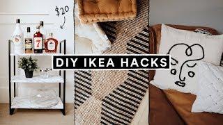 DIY IKEA HACKS - Affordable Home Decor + Furniture Hacks For 2020