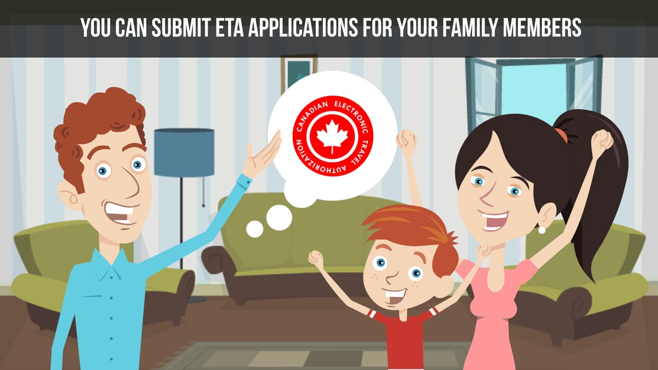 Is there a Canada eTA for families?