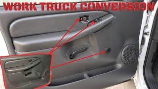 03-06 Chevy Silverado Power Window Power Door Lock Conversion.